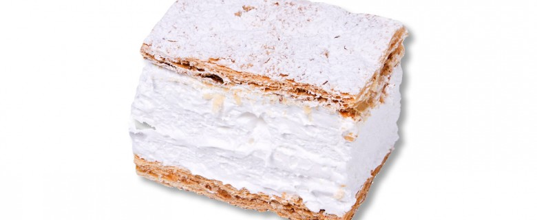 Milhoja de merengue
