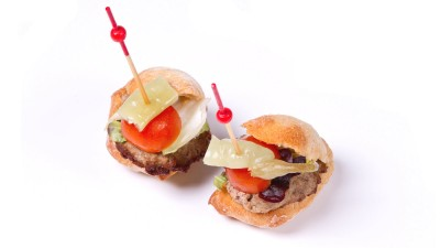 Pincho mini hamburguesa