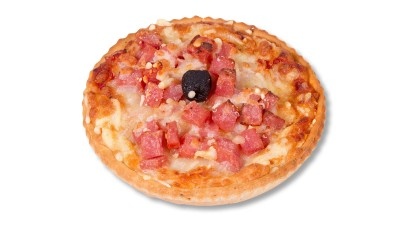 Pizza de jamón york